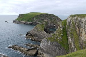 Rocky Irish coastline