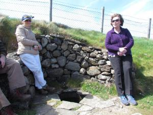 Members of Friends of Carmel at the Holy Well near Holy Hill Hermitage